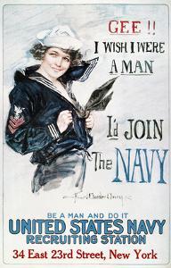 World War I: U.S. Navy by Howard Chandler Christy