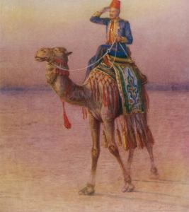 General Charles Gordon's Single-Handed Expedition to Dava on a Camel by Howard Davie