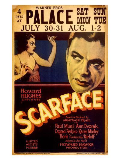 Howard Hughes presents Scarface--Giclee Print