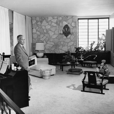 Frank Sinatra, House - 1957