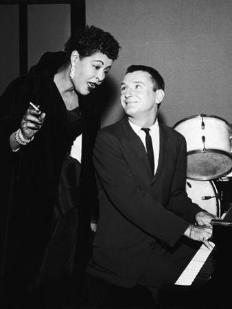 Legendary Blues Vocalist Billie Holiday, Bobby Troup, 1956 by Howard Morehead