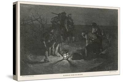 Blackbeard Blackbeard (Edward Teach) Buries His Treasure