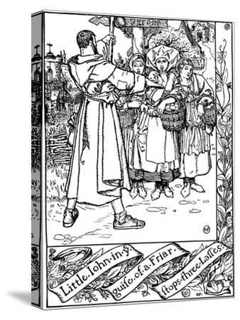 Illustration from the Book the Merry Adventures of Robin Hood, 1883
