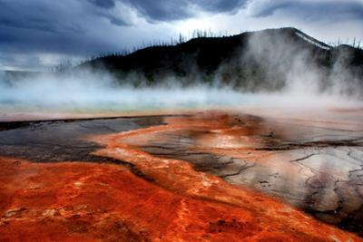 Hot Springs at Dawn by Howard Ruby