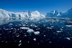 Open Waters in Disco Bay, Greenland by Howard Ruby