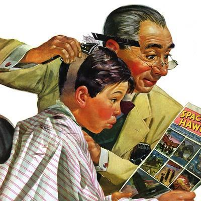"""Comical Haircut,"" February 27, 1943"