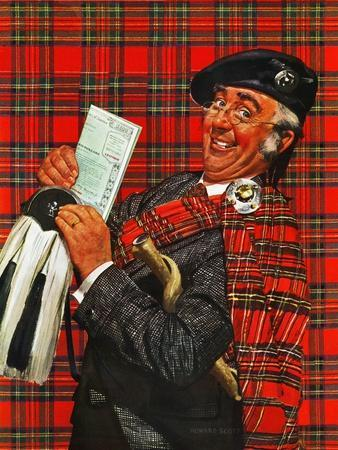 """Scotsman with Savings Bonds,"" October 9, 1943"