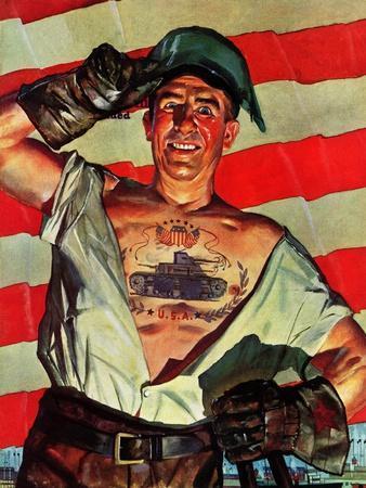 """Tank Tattoo,"" November 8, 1941"