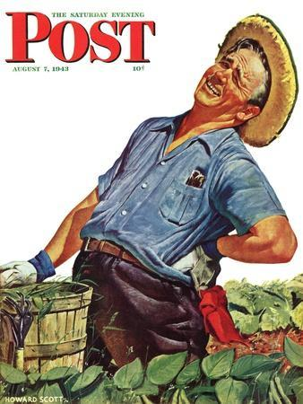 """""""Victory Garden,"""" Saturday Evening Post Cover, August 7, 1943"""