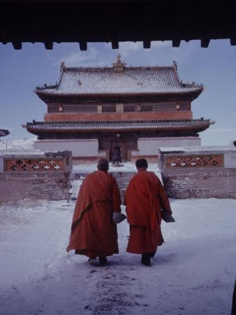 Outer Mongolia, Hidden Land Where Russia and China Square Off, Mongolian Buddhist Monastary
