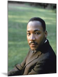 Rev. Martin Luther King, at Atlanta University for SCLC Sponsored Student Conf by Howard Sochurek