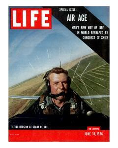 Special Issue Air Age, Man's New Way of Life in World Reshaped by Conquest of Skies, June 18, 1956 by Howard Sochurek