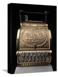 Antique Cash Register by Howard Sokol