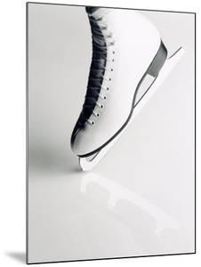 Black and White Image of Figure Skater's Skate by Howard Sokol