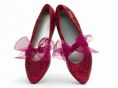 Sparkling Red Shoes by Howard Sokol