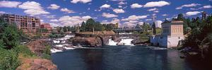 Howard Street Bridge over Spokane Falls, Spokane, Washington State, USA