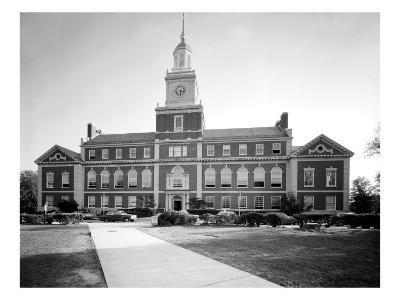 Howard University, Founders Library, Washington DC, 1970s--Photo