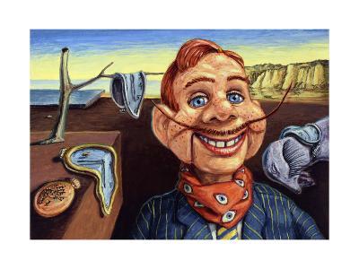 Howdy Dali Doody-James W. Johnson-Giclee Print