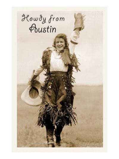 Howdy from Austin, Texas--Art Print