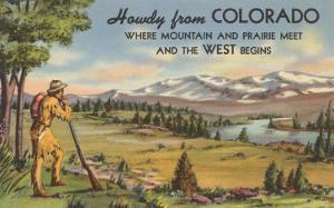 Howdy from Colorado, Mountain Man
