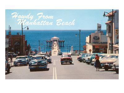 Howdy from Manhattan Beach, California--Art Print