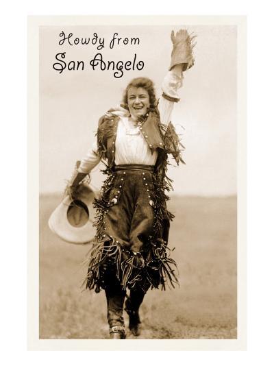 Howdy from San Angelo, Texas--Art Print