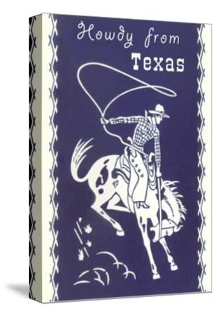 Howdy from Texas, Bucking Bronco