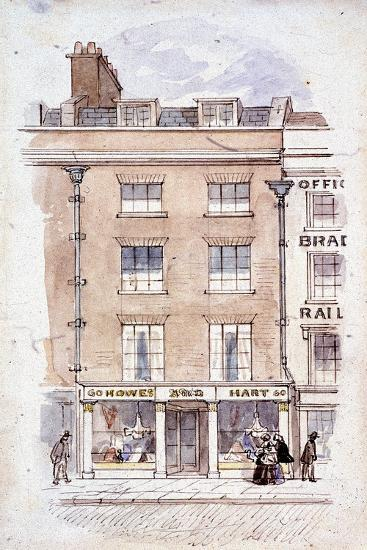 Howes and Hart, Fleet Street, London, C1820-James Findlay-Giclee Print