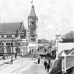 Howick Street, Perth, Australia, 1886