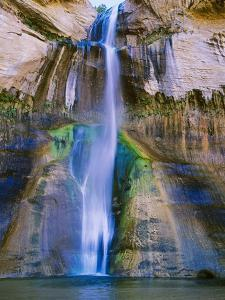 Lower Calf Creek Falls in Grand Staircase-Escalante Nat. Monument, Ut by Howie Garber