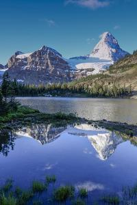 Mount Assiniboine and Mount Magog as Seen from Sunburst Lake by Howie Garber