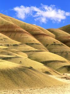 Painted Hills Unit, John Day Fossil Beds National Monument, Oregon by Howie Garber