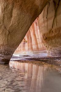 Slide Arch in Paria Canyon, Vermillion Cliffs Wilderness, Utah by Howie Garber