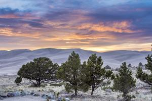 Sunset over Great Sand Dunes National Park by Howie Garber
