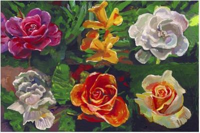 6 Flowers by Howie Green