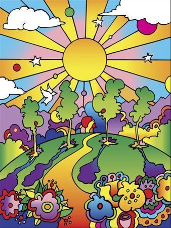 Cosmic Trees by Howie Green