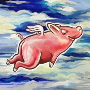 Flying Pig by Howie Green
