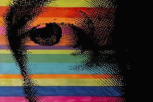George's Eye by Howie Green