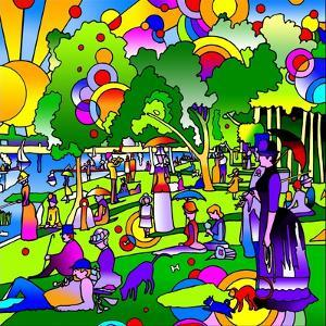 Grande Jatte by Howie Green