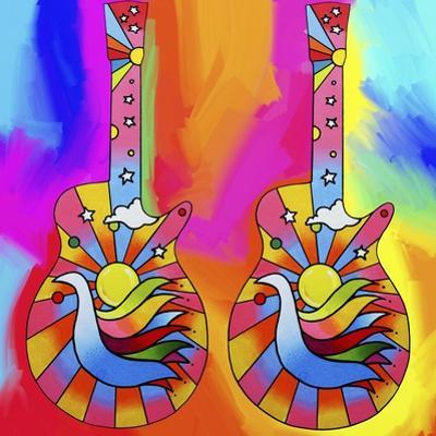 Guitars-Dove by Howie Green