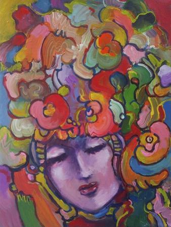 Mardi Gras Lady 615 4 by Howie Green