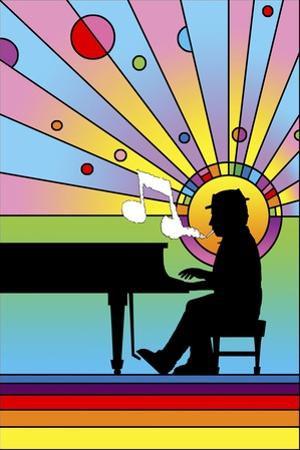 Piano Player 1 by Howie Green