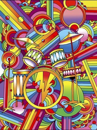 Pop Art Drums