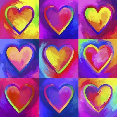 Pop Art Heart 2