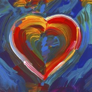Pop Art Heart Icon by Howie Green