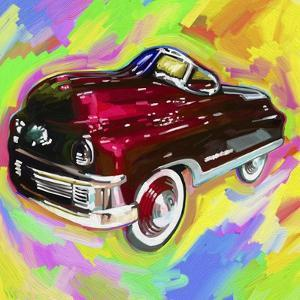 Pop Art Kiddie Car by Howie Green