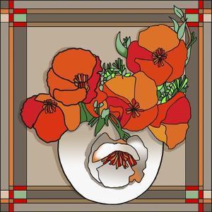 Poppy Bowl by Howie Green