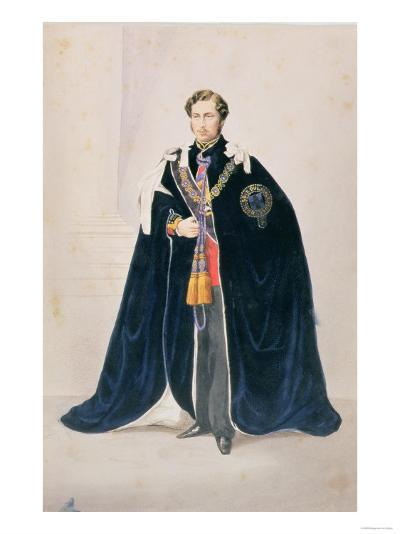 Hrh Albert Edward, Prince of Wales--Giclee Print