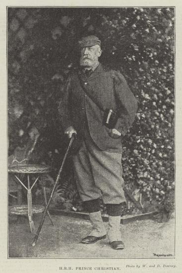 Hrh Prince Christian--Giclee Print