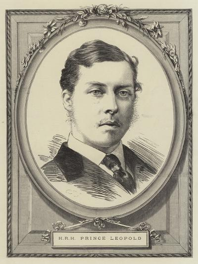 Hrh Prince Leopold--Giclee Print